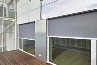 Wohnturm mit Patchwork-Fassade